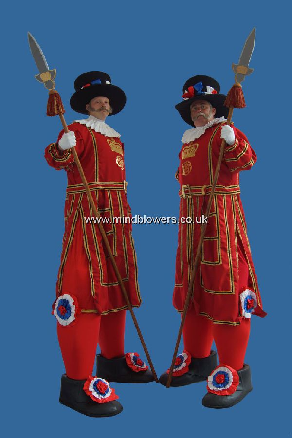 Beefeater Stilt Walkers