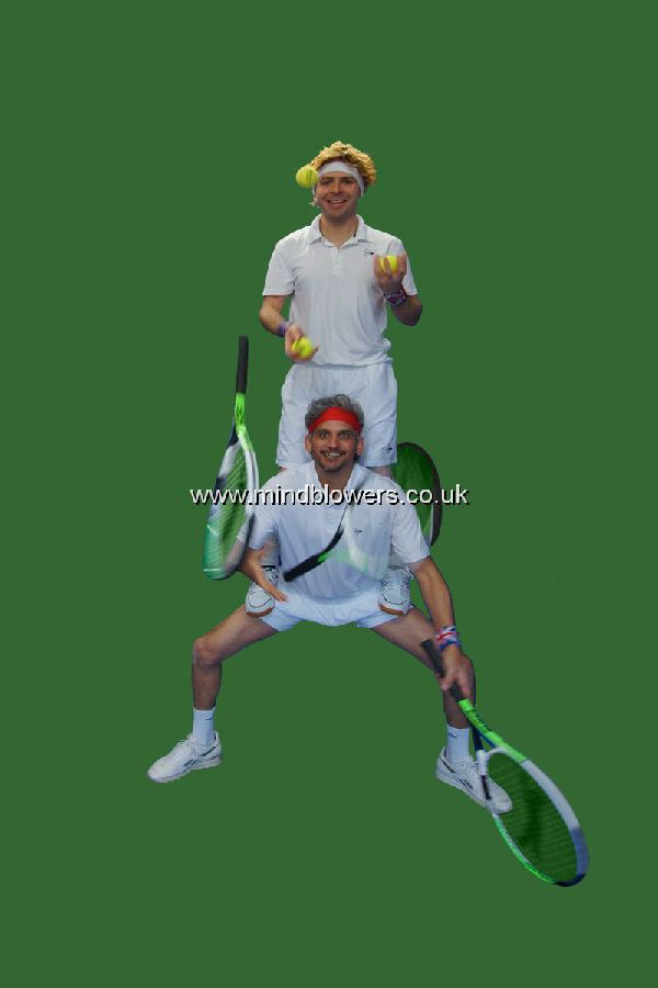 Tennis Themed Jugglers