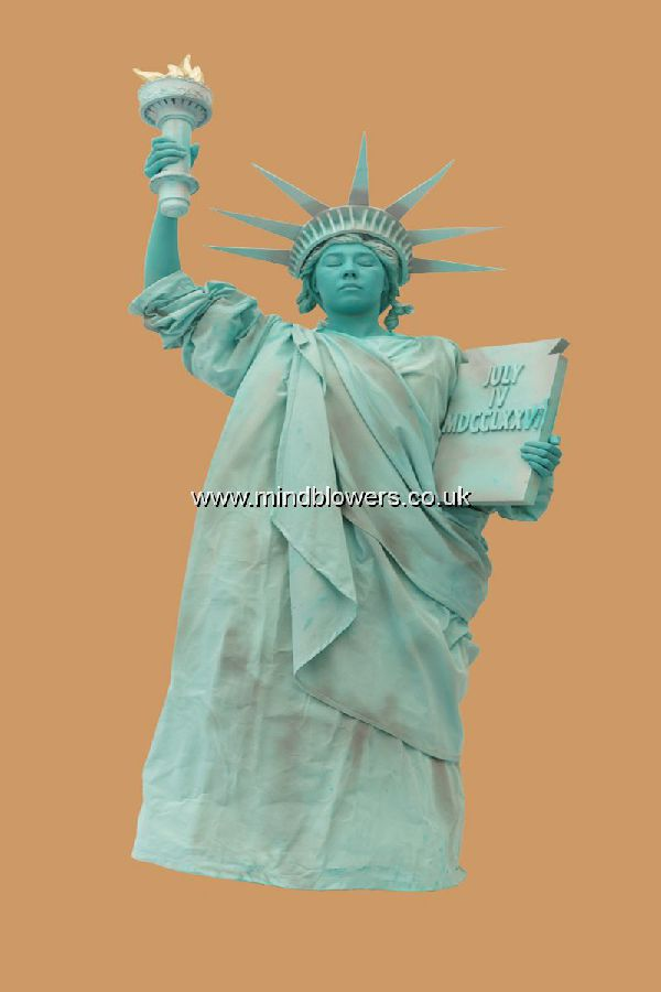 Statue of Liberty Human Living Statue