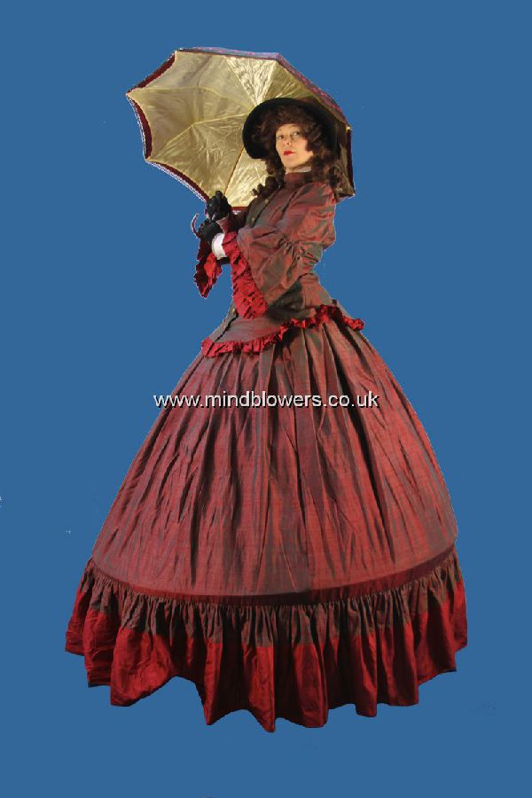 Victorian Lady Stilt Walker